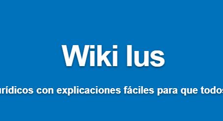 Glosario participativo de términos jurídicos: Wiki Ius