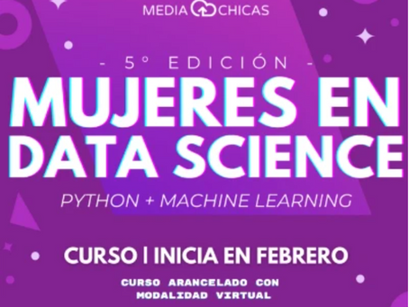 Mujeres en Data Science
