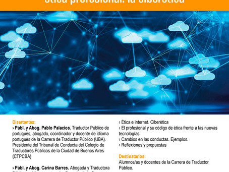 Evento -  El impacto de las nuevas tecnologías en la ética profesional: la ciberética