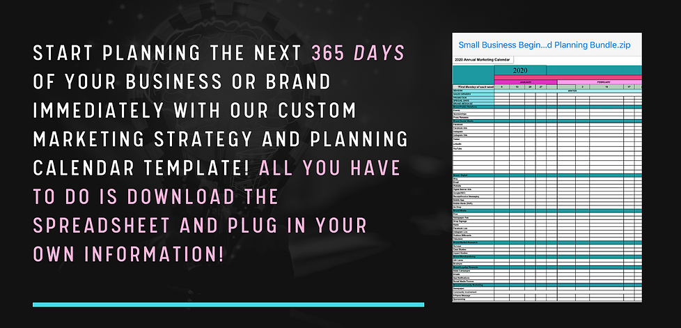 Start planning the next 365 days of your
