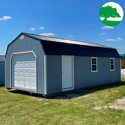"""14' x 28' Painted """"Lofted Garage"""""""