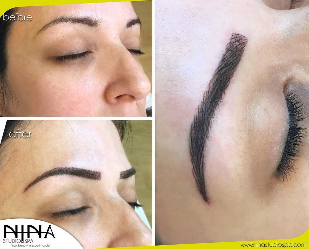 Eyebrows Micropigmentation