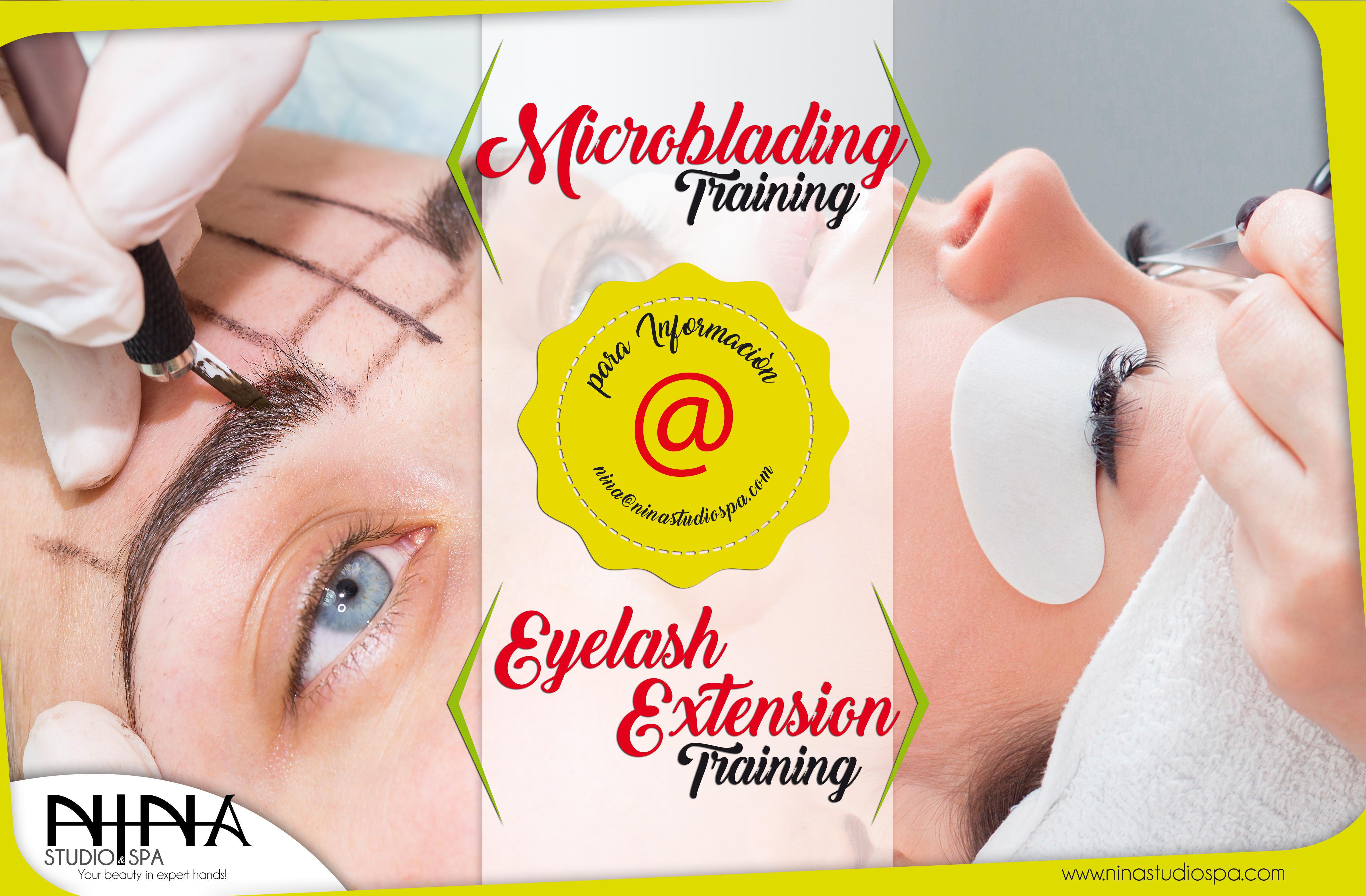 Training microblanding
