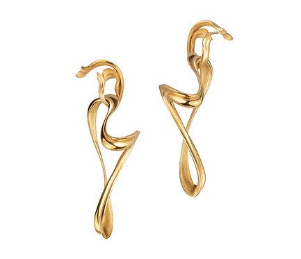 Hijab Earring in Gold
