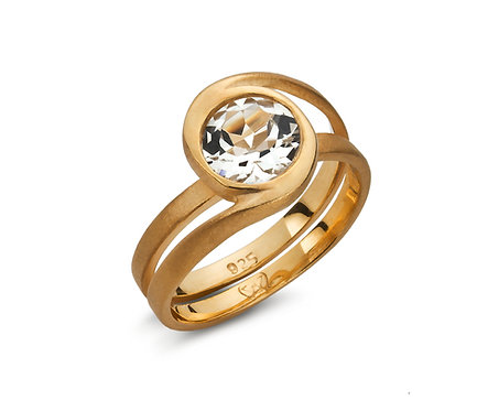 Frozen Ring in Gold