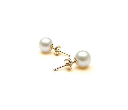Pearl Earring in Gold