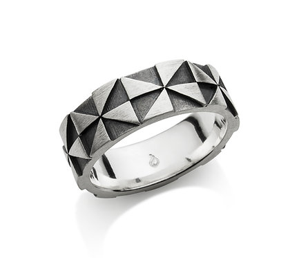 Windmill Ring in Silver