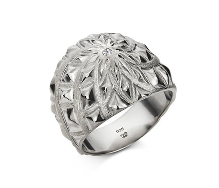 John Ring in Silver or Gold Plated Silver