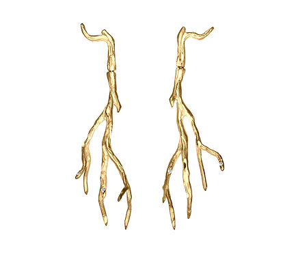 Orvalho Earring in Gold