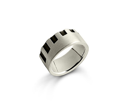 Colinas Ring in Silver or Gold Plated Silver