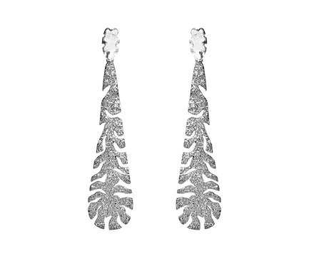 Nevasca Earring in Silver or Gold Plated Silver