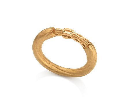 Minarete Ring in Silver or Gold Plated Silver