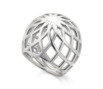 Gregory Ring in Silver or Gold Plated