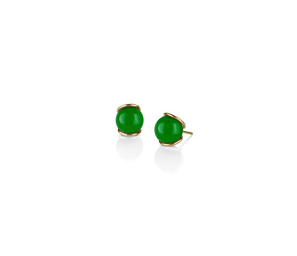 Slip I in Gold with two (2) pairs of gems of your choice. (08 mm gem)