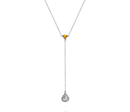 Varlaam Necklace  in Silver or Gold Plated Silver