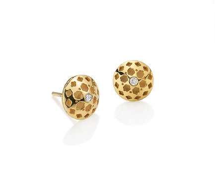 Arabic Earring in Silver or Gold Plated