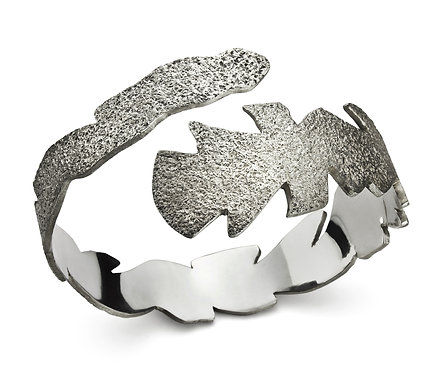 Nevasca Bracelet in Silver or Gold Plated Silver