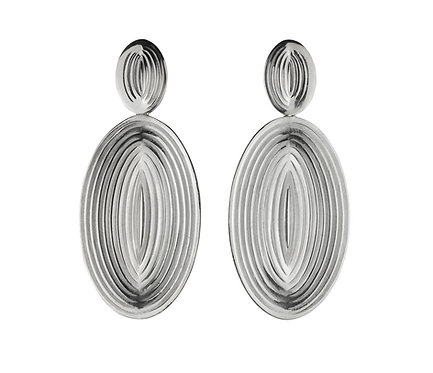 Efeito Earring in Silver or Gold Platead Silver