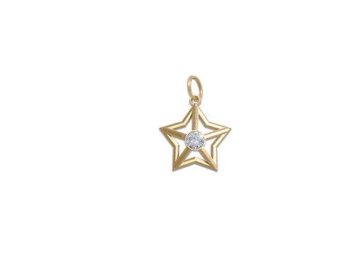 Starlight Pendant in Gold