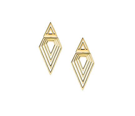 Prisma Earring in Gold