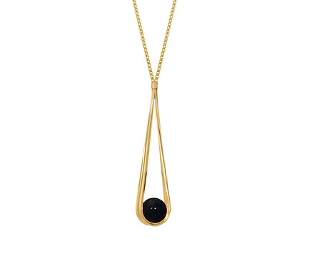 Balanço Necklace in Silver or Gold Plated Silver