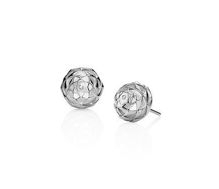 Ivan Earring in Silver or Gold Plated Silver