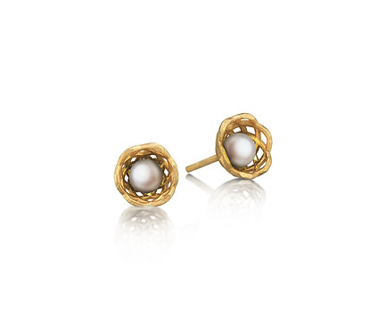 Gregory Baby Earring in Gold with Pearl