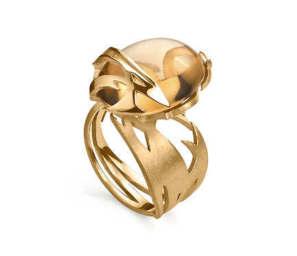 Kayan Ring in Gold