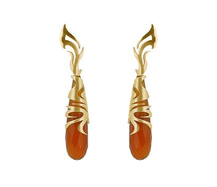 Khmer Earring in Gold