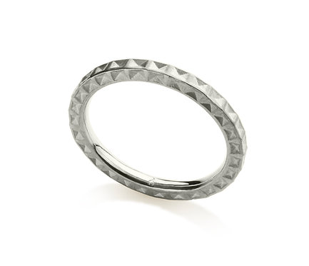 Jerusalém Ring in Silver or Gold Plated Silver