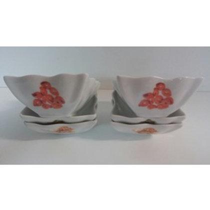Set snack 6 ciotole in ceramica