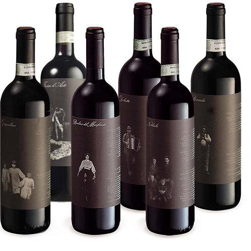6 bottiglie dei vini Tenuta La Pergola