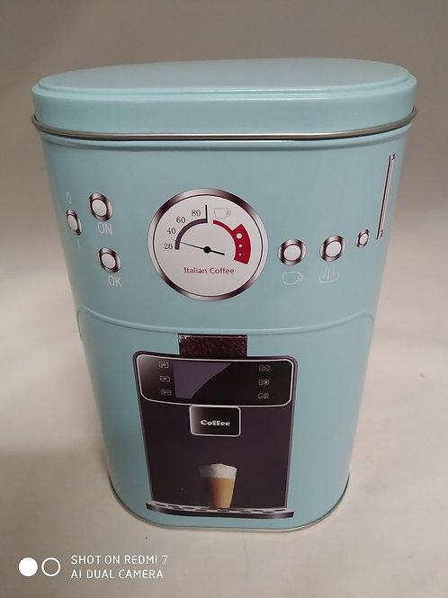 scatola metallo porta capsule caffè