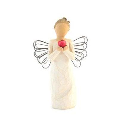 Statuetta Willow Tree raffigurante un angelo
