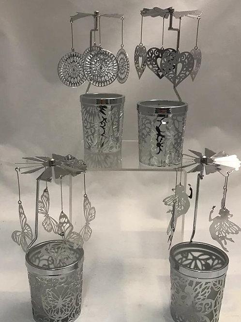 Gioistrine con bicchiere porta candela