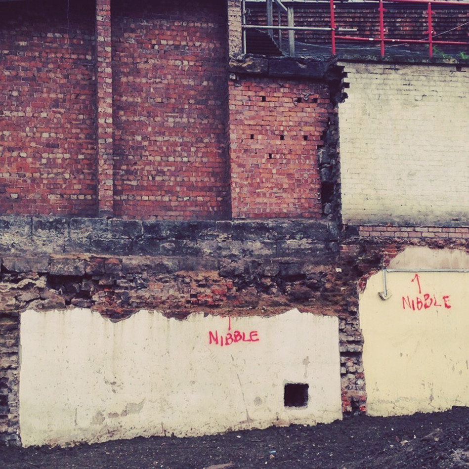 Nibble Nibble, 2017,   Messages from the city, Cheetham Music School