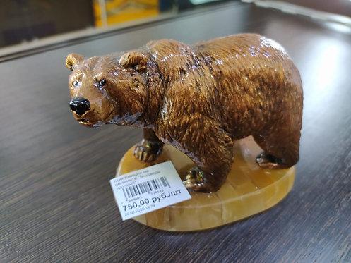 """Композиция на селените """"Медведь идущий"""""""
