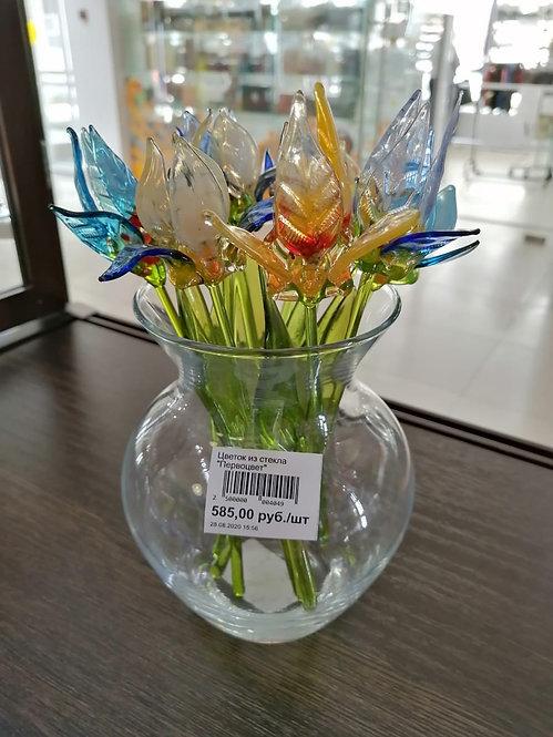 """Цветок из стекла """"Первоцвет"""""""