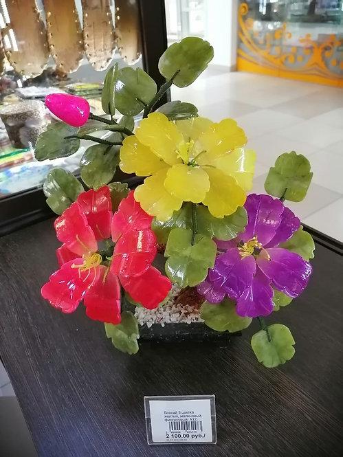 Бонсай 3 цветка