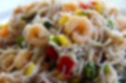 Vermicelles_de_riz_aux_crevettes_et_sésa