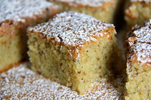 Gâteau aux amandes (6 morceaux) - Congelé