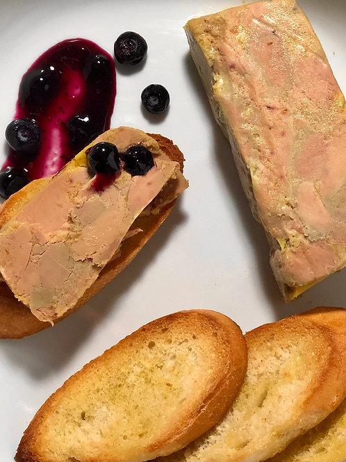 Terrine de foie gras à l'érable (120 g) - Congelé