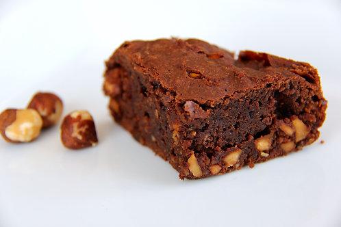 Brownies aux noisettes (6 morceaux) - Congelé
