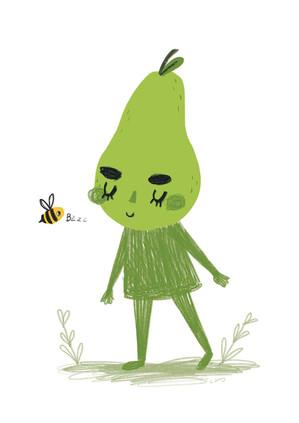 Pear & Bee