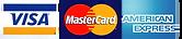 Visa, Master, Amex