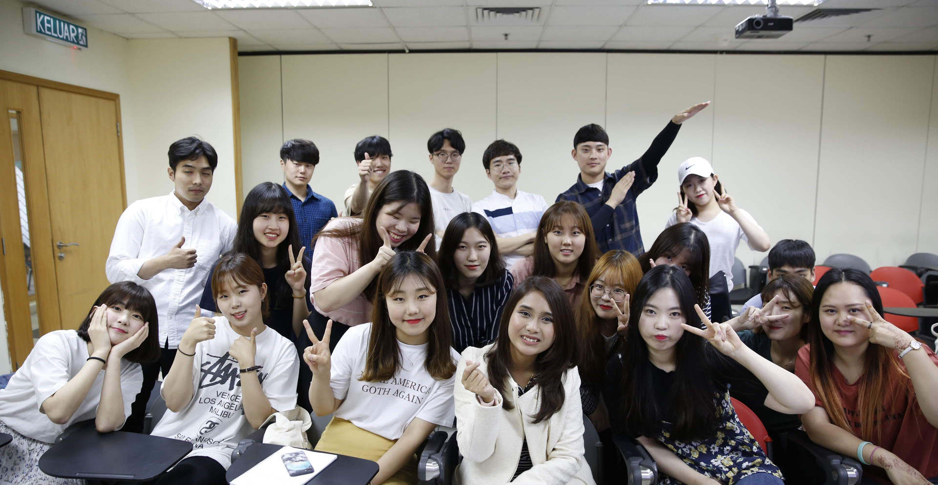 unikl exchange students Korea