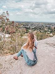 Brenna on Trinidad hillside 2020.jpeg
