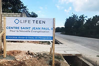 Life Teen Missions sign in Haiti.jpg