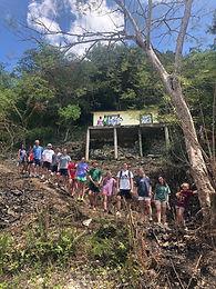 Evan's team builds home in Jamaica 2020.