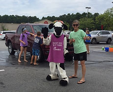 Car Washing with the Cow 2019.JPG